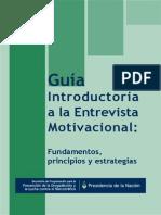 Guia Introductoria a La Entrevista Motivacional