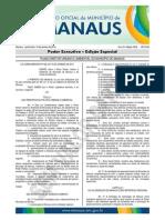 Lei Complementar No 00214 Plano Diretor de Manaus