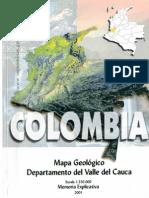 Memoria Explicativa Valle Del Cauca