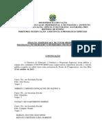 Convocacao Tutor Presencial Profuncionario e Seg Trab 2013