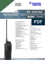TK NX-240-340 Catalogo Portugues
