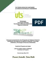 Guia Presentacion Propuesta Grado 2014