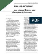 ANSI-IsA S5.2 - 1976 (R1981) - Diagramas Logicos Binarios Para Operacao de Processos
