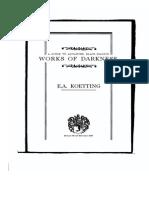Koetting - Works of Darkness