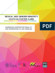 Sexual and Gender Minority Youth in Los Angeles County Foster Care