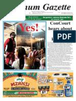 Platinum Gazette 29 August 2014