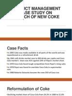 Launch of New Coke