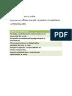 evaluaciones coevaluaciones y rubricas