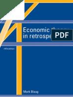 Blaug, Mark - Economic Theory in Retrospect, 1997 (OCR This)