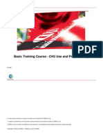 Basic Training Course - C4G Use and Programming