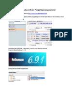 Konek Database UI Dan Panggil Laporan Parameter