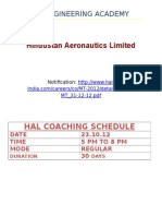 Hindustan Aeronautics Limited - Schedule (1)