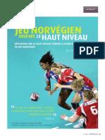 Como Juega La Selección Absoluta Femenino Noruega. Eric Baradat