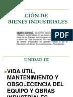 Valuación de Bienes Industriales Exposición..