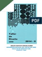 Plan de Clase Taller de Diseño i