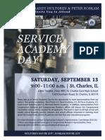 Service Academy Day Hultgren