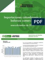 OEE- MA 12 Informe de Importaciones y Balanza Dic de 2013 Feb 2014