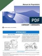Manual Da CBR 600F 2014