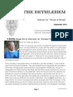 September Bethlehem Newsletter