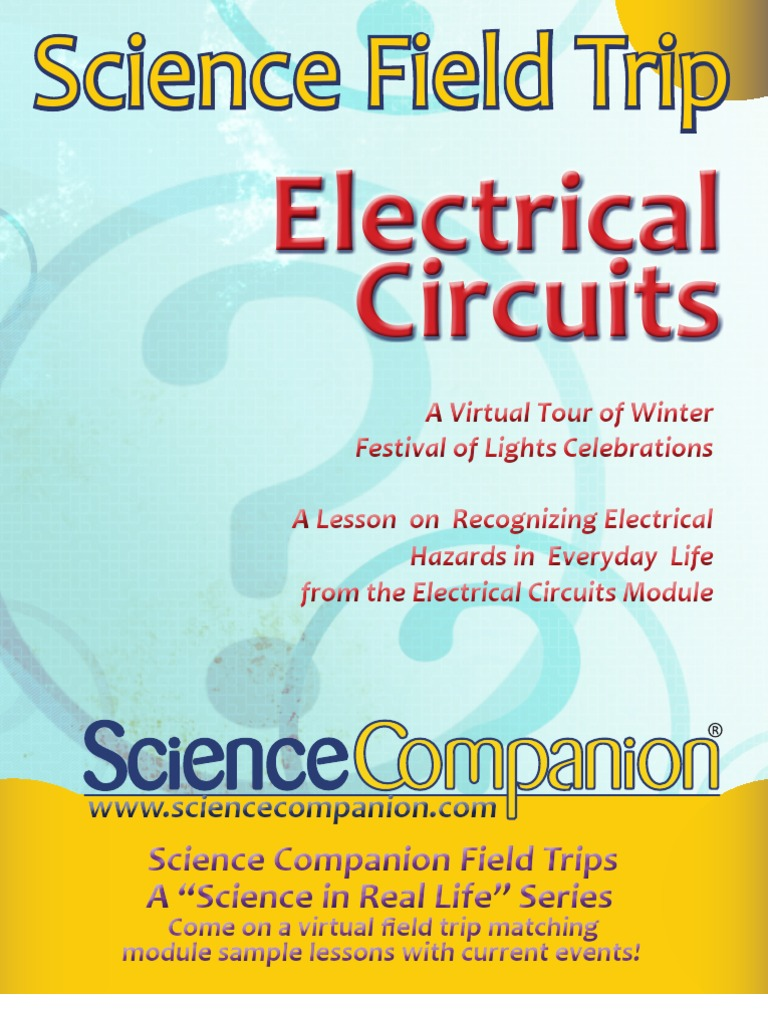 Science Companion Electrical Circuits Field Trip | Electricity ...