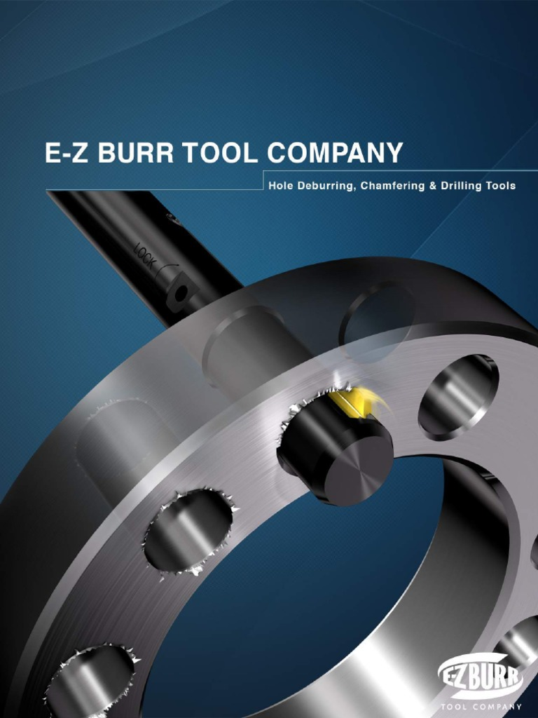 Pack of 1 23//64 inch HSS E-Z Burr Tool EZL0359-02