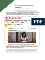 La Argentina y El Peronismo, Según Le Monde