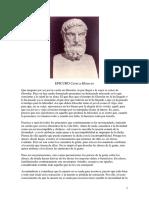 Cartas a Meneceo - Epicuro