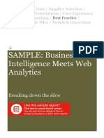 SAMPLE Econsultancy Business Intelligence Meets Web Analytics