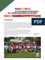 MINGALERIAS, Una experiencia de comercialización directa en la región suroccidental de Colombia