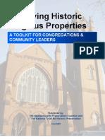 Preserving Historic Religious Properties