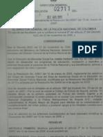 Resolución Que Notifica a Álvaro Uribe Sobre Plazo Para Entrega de Vivienda en Cespo (I)
