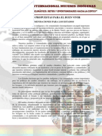 Foro Internacional Mujeres Indígenas Retos y Oportunidades Hacia La COP20