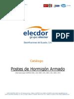 Catalogo Elecdor Postes