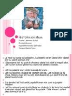 Historia en Maya