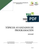 Manual de Practicas Topicos Avanzados de Programacion