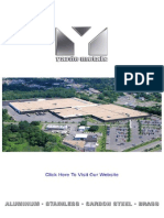 Yarde Metals Shapes Catalog