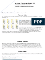managing your computer files