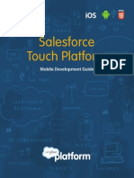 Salesforce Touch Platform