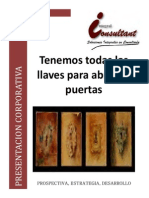 Brochure y Presentacion Corporativa