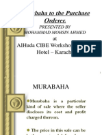 Murabaha to Purchase Order by Muhammad Mohsin Ahmed