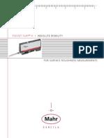 rugosimetro MAHR