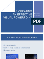 7 tips for an effective powerpoint