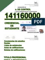 Servicios Escolares Ago-Dic 2014