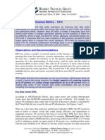RFG Research Brief - Data Center Effectiveness Metrics - 1H14
