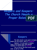 Reapers and Keepers