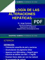 Semiologia de Alteraciones Hepaticas Dr. Contreras