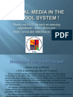 Social Media in School Systems !