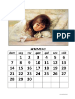 Calendario Modelo Criancas-Animais 2014-2015