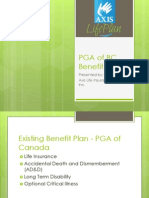 PGA of BC Benefits Plan