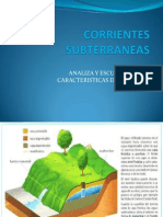 Corrientes Subterraneas